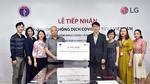 LG donates 10,000 COVID-19 test kits to Ministry of Health
