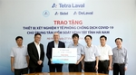 Tetra Laval Group donates medical equipment to Ha Nam Province