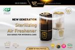 VANZO Launches New Generation Sterilizing Air Freshener