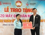 MeLinh Point donates 20thermal cameras to help fight Covid-19