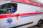 Novaland presents emergency trucks to 115 Emergency Centre