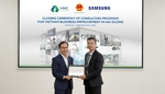 Samsung helps improve support industry firms in Hai Duong