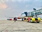 Vietnam's largest private airline Vietjet kicks off self-handling ground operations amid the pandemic