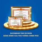 Sacombank awarded Prime Minister's Certificate of Merit