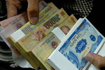 New small banknotes hunted for giving lucky money