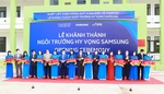 """Samsung's third Samsung """"Hope School"""" inaugurated in Bac Giang"""