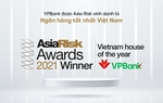 VPBank wins 'Viet Nam House of the Year'award by Asia Risk 2021 in risk management and derivatives
