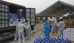 La Vie donates water to medical facilities in Hai Duong, Quang Ninh