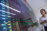 Market falls as many large-cap stocks face sell-off