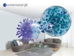 Air conditioner with nanoe™ X inhibits novel coronavirus