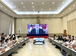 Teleconference boosts Belgian investment in Binh Duong