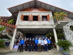 Lu ethnic people get community cultural house funded by Sacombank charity programme