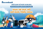 Sacombank announces winners of Audi car, other prizesin lucky draw