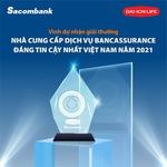 Sacombank, Dai-ichi Life win Dutch award for Most Trusted Bancassurance Provider in Vietnam