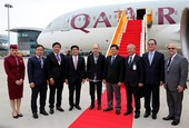 Qatar Airways launched direct flights to Da Nang