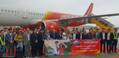 Vietjet launches HCM City-Van Don flight