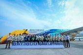 Bamboo Airways operates its 10,000th flight after one year