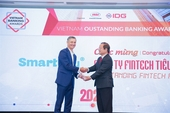"SmartNet receives ""Vietnam Outstanding Fintech Award 2020"""