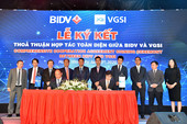 VGSI - Korean developer inks agreement with BIDV