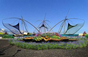 City's 1st permanent flower market to open