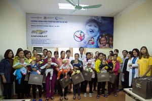 GM Viet Nam joins hands with Operation Smile