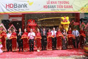 HDBank opens branch in Mekong Delta city