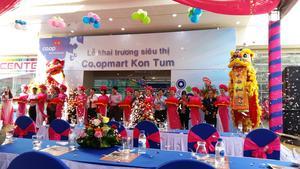 Saigon Co.op opens 1st Co.opmart in Kon Tum