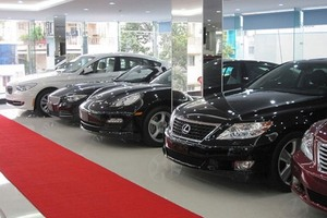 Car imports up in November