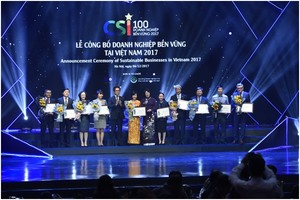 Viet Nam's 100 most sustainable firms honored