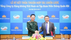 Viettel and Vietnam Airlines ink co-operation agreement
