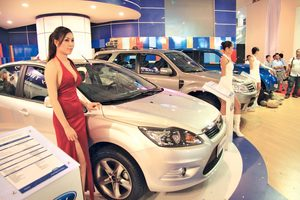 Import of cars up in January