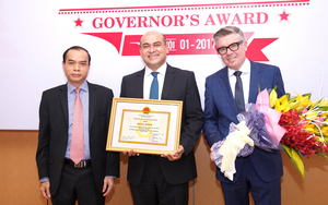 Prudential finance receives Central Bank Award