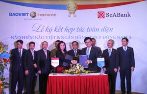 Bao Viet signs co-operation agreement with SeABank
