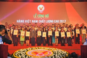 More than 590 firms receive Vietnamese High-Quality Goods awards