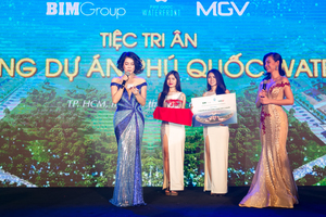 Party honours BIM's Phu Quoc Waterfront hotels' buyers