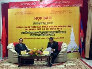 Laos Goods Week to be held in HCM City