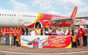 "Vietjet receives first A321neo ""new-engine option"" aircraft"