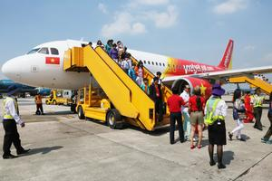 Vietjet launches promotional tickets for U23 Vietnam supporters