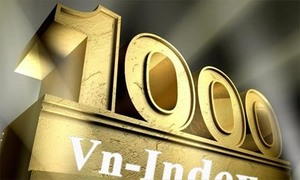 VN-Index breaks 1,000 point level
