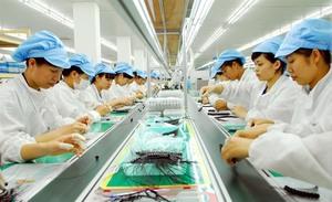 Electronics industry growing
