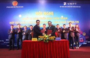 VNPT to help Ha Giang become smart city