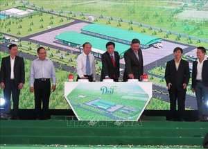 Giant livestock processing factory opens in Dong Nai