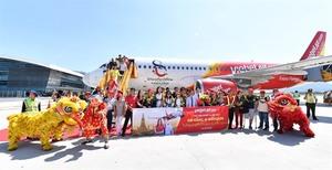 Vietjet celebrates new int'l route with cheap fares