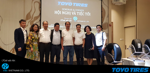 YHI Vietnam launched Toyo tires
