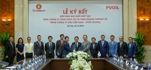 Vinfast, PV Oil ink deal on charging stations