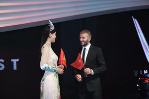 David Beckham kicks off Vietnam's first car range
