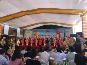 $72m garment factory opens in Nam Dinh