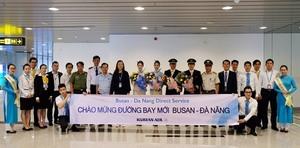 Busan-Da Nang direct flight opens
