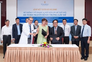 Vinmec to become top ASEAN hospital for surgical anaesthesia