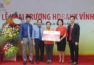 HDBank opens first branch in Vinh Phuc